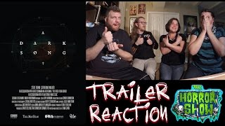 """A Dark Song"" 2017 Movie Trailer Reaction - The Horror Show"