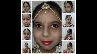 How to do radha makeup at home