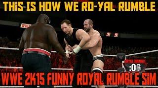 Download Lagu THIS IS HOW WE RO-YAL RUMBLE | WWE 2K15 Funny Royal Rumble Simulation Gratis STAFABAND