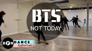 "BTS ""Not Today"" Dance Tutorial (Chorus, Ending)"