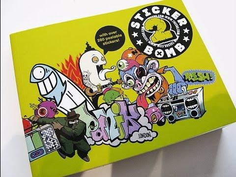 Sticker bomb COLLECTION !   Graffiti sticker book.