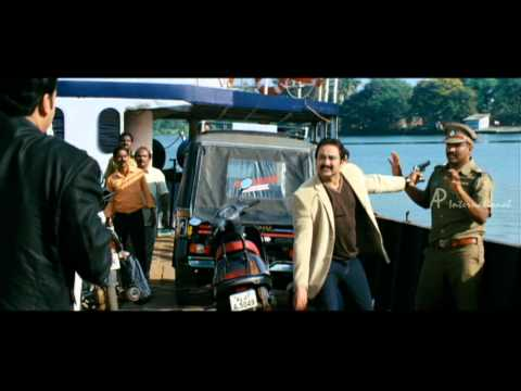 Christian Brothers - Mohanlal Escape From Police Hd video