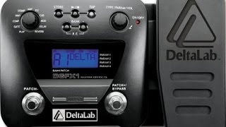 DeltaLab DGFX1 multi effects pedal demo - suprisingly awesome :)