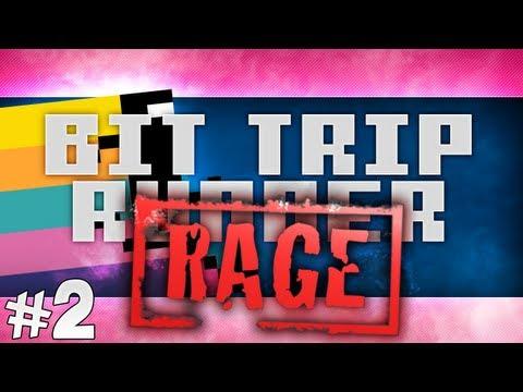 Bit.Trip Runner 2 RAGE with Nilesy #2!