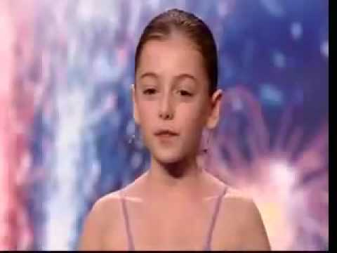 'Lil Susan Boyle ' On Britain's Got Talent 2009 Hollie Steel I Could Have Danced All Night