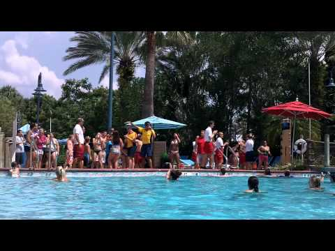 Old Key West Pool Party