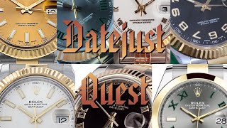 Rolex Datejust - Part I: The Quest for the 116333