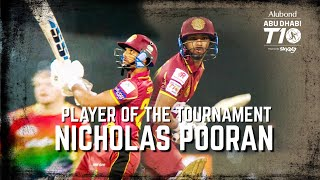 Nicholas Pooran I Player of the tournament I Northern Warriors I Abu Dhabi T10 I Season 4