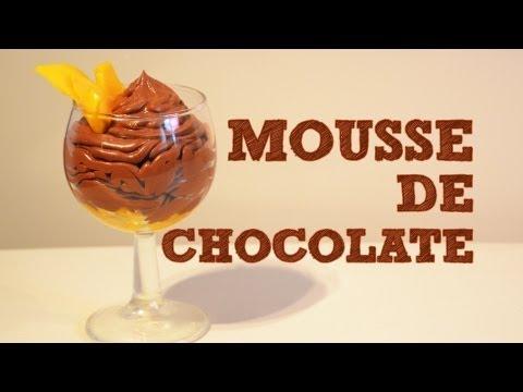 Mousse de Chocolate con Mango FACIL | Recetas de postres | Recetas de cocina fáciles | Muss de fruta