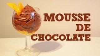 Mousse de Chocolate con Mango FACIL   Recetas de postres   Recetas de cocina fáciles   Muss de fruta