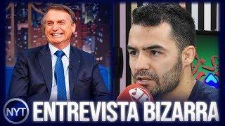 Entrevista com Bolsonaro é chamada de BIZARRA, Mamãefalei é chamado de COVARDE e debaterá com ytber