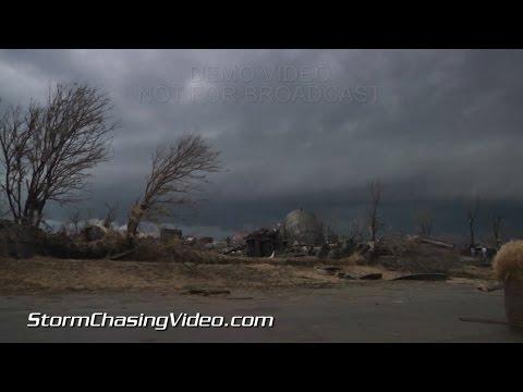 4/9/2015 Rochelle, IL Tornado Damage & HP Tornado Clinton, IL
