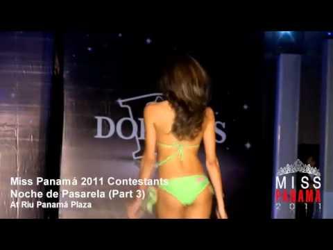 Pasarela Miss Panamá 2011 - Hotel Riu (Parte 3)