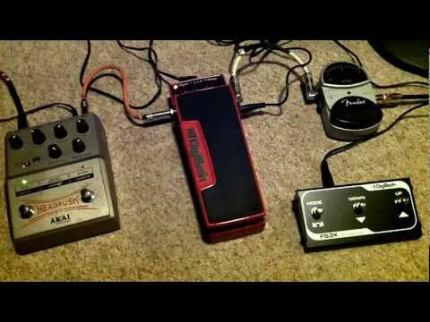 Brian May Red Special Pedal Demo