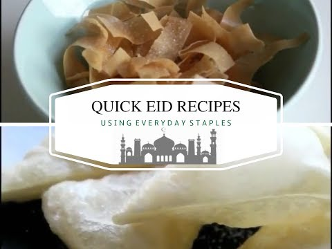 Ramadan Recipes: Quick & Easy Eid Recipes (using Readymade Staples)