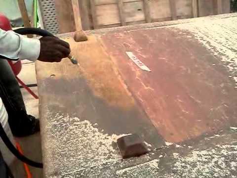 Sand Blasting Wood Youtube