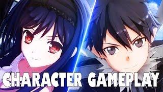 Accel World VS Sword Art Online: Millennium Twilight Character Gameplay Showcase