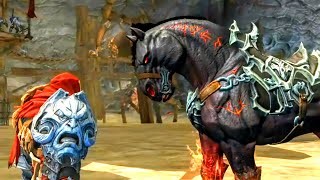 Ruin: The Horse of War. Horseman of Apocalypse Reunites with His Steed (Darksiders 1)