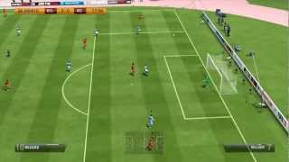 FIFA 13 Gameplay - Manchester City vs Belgium (HD)