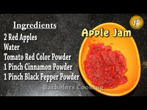 Apple Jam (Diabetic Friendly Recipe)