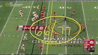 Studying Tua: 3rd qtr vs Georgia