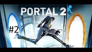 Portal 2 Bölüm #2 Türkçe Kafalar Pırıl Pırıl