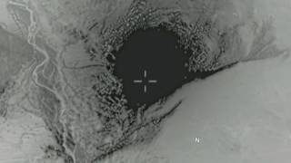 FIRST VIDEO: US mega-bomb strike against ISIS targets in Afghanistan