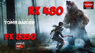 RX 480 + FX 8350 in Rise of the Tomb Raider (Ultra Settings)