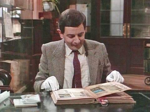 Mr Bean - Library destruction