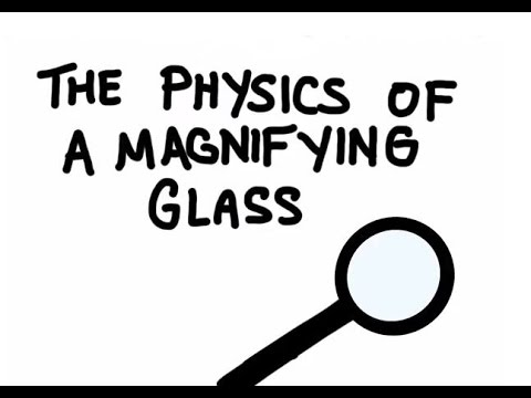 How a Magnifying Glass Works