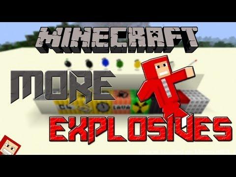 Minecraft 1.4.7 - Pasta .minecraft com More Explosives (Mod das Bomba