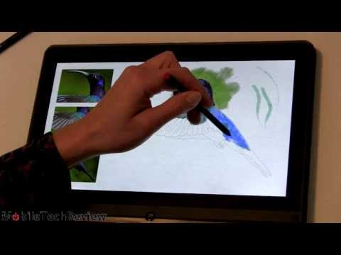 Lenovo ThinkPad Yoga Wacom Pen Demo and Review