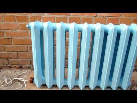 Электрообогреватель из радиатора своими руками 4560