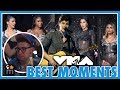 10 Best Moments from the 2017 MTV VMAs - Fifth Harmony, Shawn Mendes, Demi, Bebe Rexha Fangirling