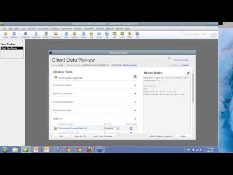 Using QuickBooks Client Data Review - Save Time Cleaning up Files - CPA, Accountant, ProAdvisor