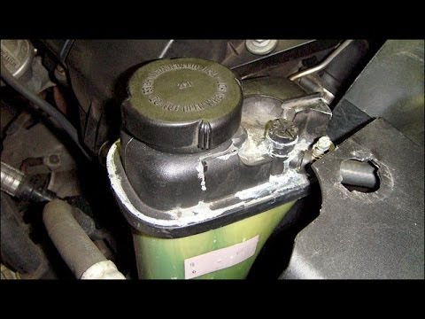 HOW TO Remove Expansion Tank BMW 5 Series 3 Series E90 E39 528I 328I M5 M3