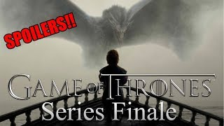 Game of Thrones Series Finale REACTION!