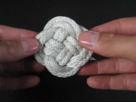 How to Tie (Cylinder, Mat & Ball) Turk's Heads by TIAT