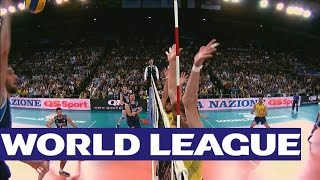 Italy v Brazil - Highlights - FIVB Volleyball World League
