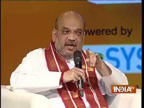 IndiaTV Samvaad: Amit Shah on Jatreservation in Haryana