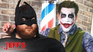JOKER REVEALS FATMAN'S IDENTITY | Jeff's Barbershop