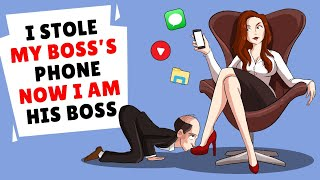 i stole my boss phone now i am his boss