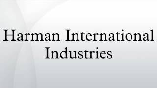 Company Profile: Harman International Industries (NYSE:HAR)