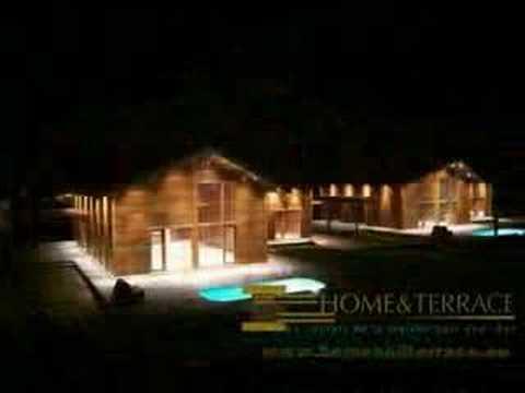Maison en bois exotique kit bresil for Constructeur maison bois kit vendee