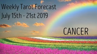 Cancer ~ Shhhh....you're blessed! ~ Weekly Tarotscope July 15th - 21st