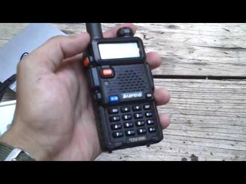 Baofeng UV-5R Dualband (PT-BR)