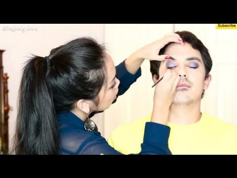 Doing My Husband's Makeup - itsjudytime