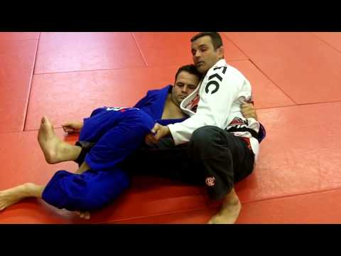 Jiu Jitsu Techniques - Half Guard Pass Image 1
