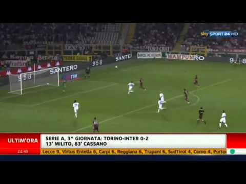 Torino-Inter 0 2 Highlights Sky Sport 16/09/2012