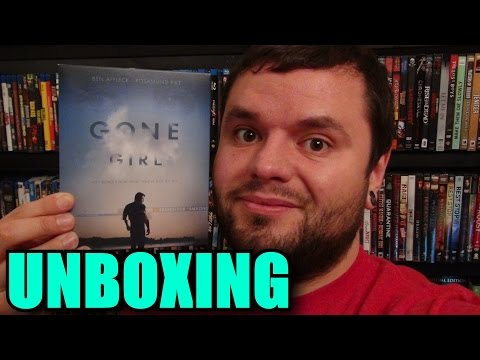 Gone Girl Blu-ray Unboxing video